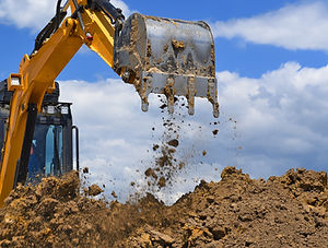 The modern excavator performs excavation