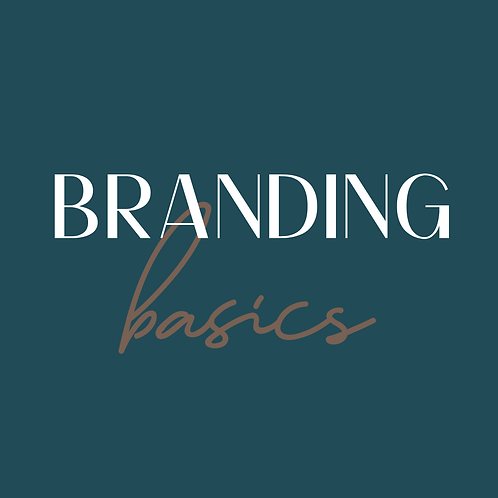 Branding Basics