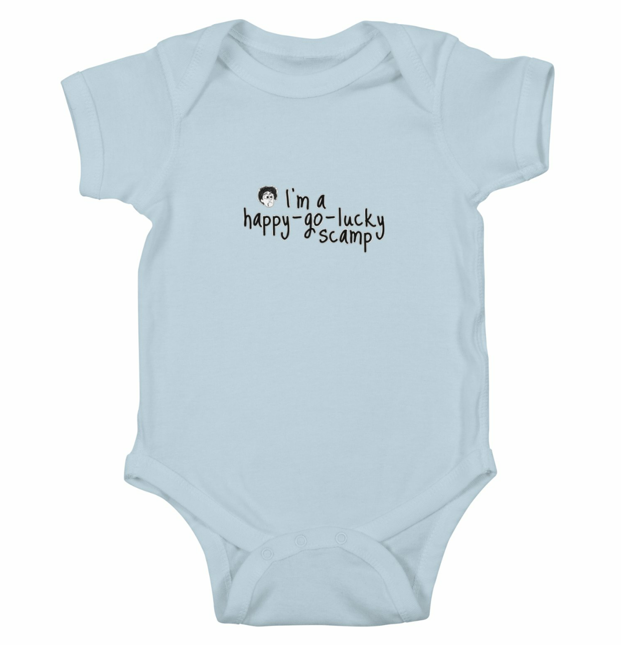Black books baby onesie