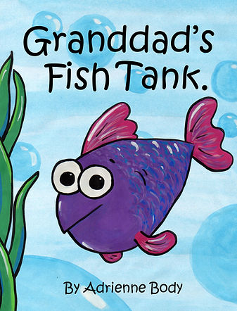 Granddad's Fish Tank - by Adrienne Body - New Zealand picture book, kiwi picture book , NZ picture book, New Zealand children's book