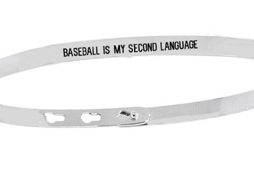 BASEBALL IS MY SECOND LANGUAGE