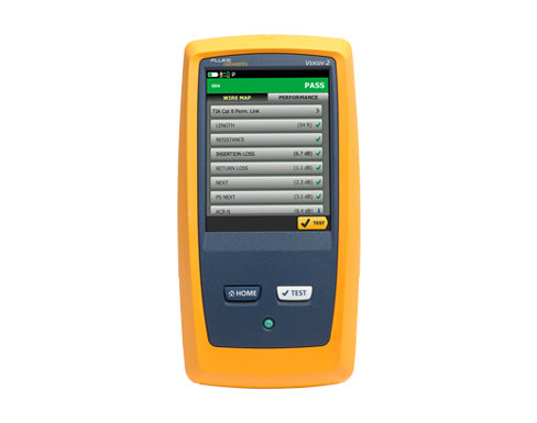 Fluke Networks DSX CableAnalyzer™ Series Copper Cable Certifiers