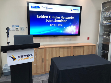 Belden X Fluke Networks Joint Seminar (Event photos)