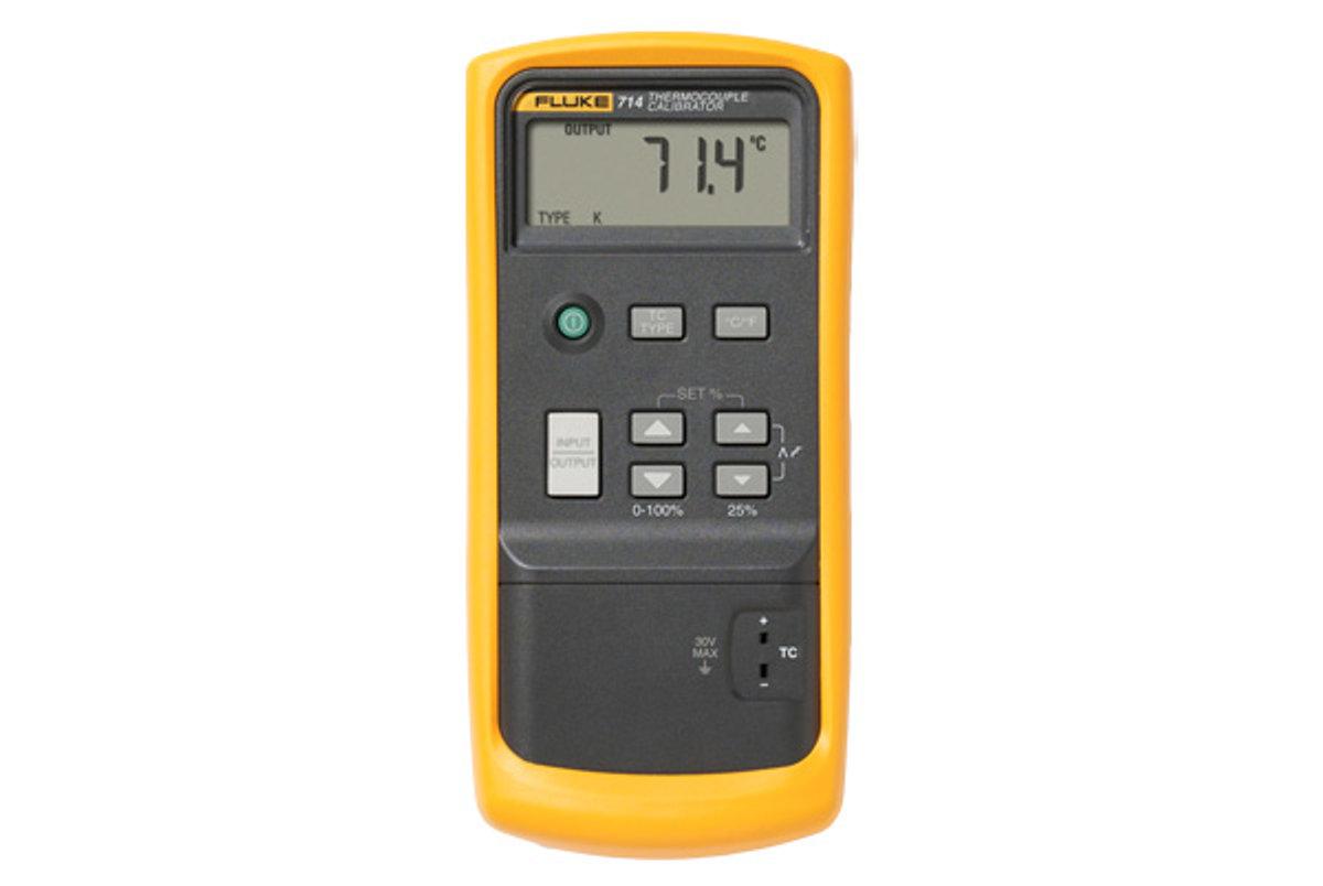 Fluke 714 thermocouple calibrator manual.