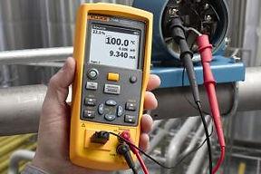 Fluke temperature calibrator