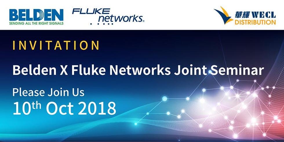 Belden X Fluke Networks Joint Seminar
