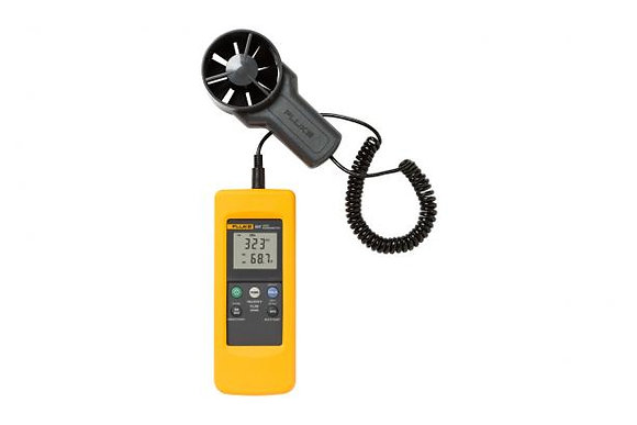 Fluke 925 Anemometer Wind Speed Air Flow Velocity Temperature Meter