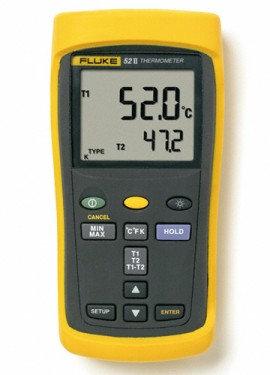 Fluke 52 II Dual Probe Digital Thermometer