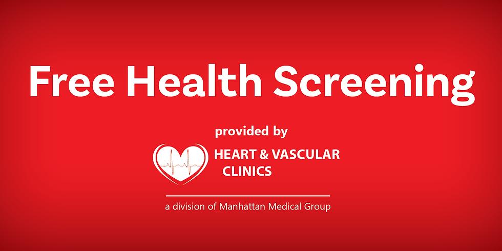 Free Heart Health Screening - Clay Center