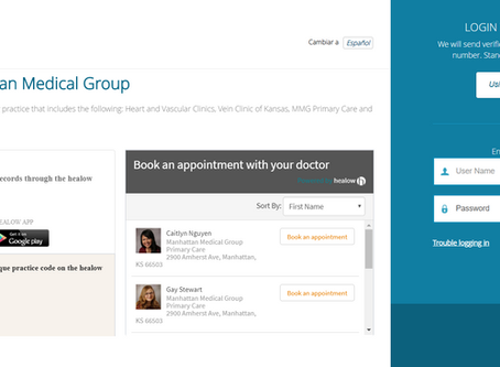 Patient Portal features secure messaging, online bill pay & more