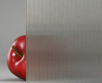 Ribbed Glass