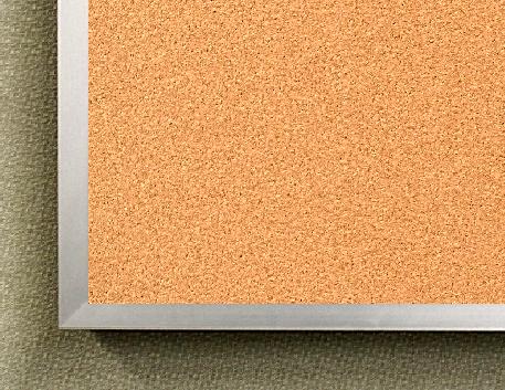 """Series 100 Corkboard - 48""""h x 72""""w"""
