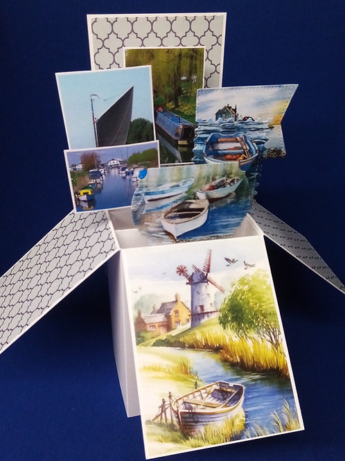 Birthday Card with Boats