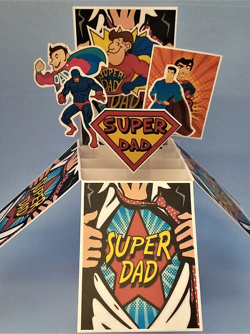 Father's Day Card for a super dad