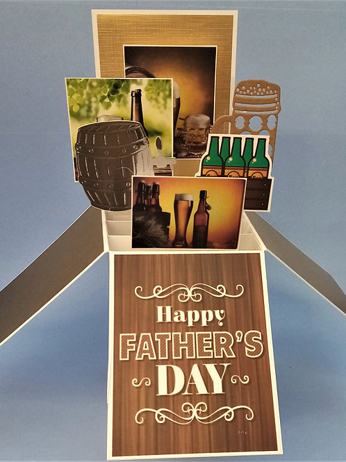 Father's Day Card with Beer