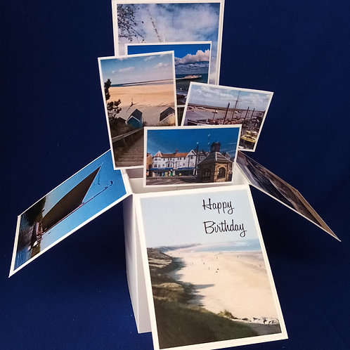 Birthday Card with Norfolk scenes
