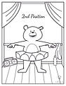 Coloring Pages - Dancing Bears - Second