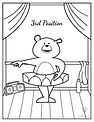 Coloring Pages - Dancing Bears - Third P
