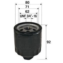 FILTRO ACEITE VW POLO GOLF IV 1.4