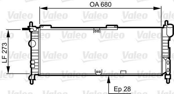 RADIADOR GM CORSA 1.4 C/A