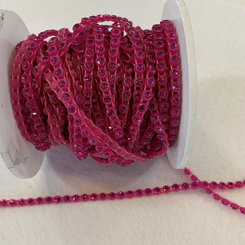 Crystal Banding SS13 - Neon Pink on Pink