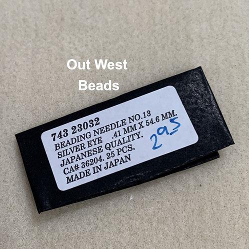 Beading Needles Short Size 13