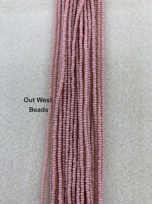 Size 13 Seed Beads Antique Pink - 167