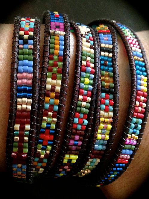 Southwestern Pattern Wrap Bracelet Kit