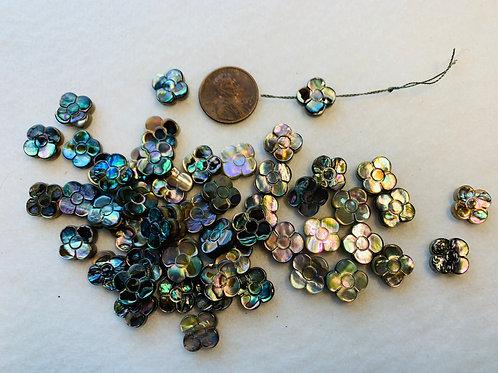 Abalone Flower Beads