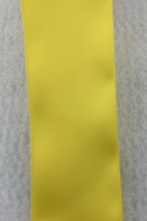 "Yellow Satin Ribbon - 1.5"""