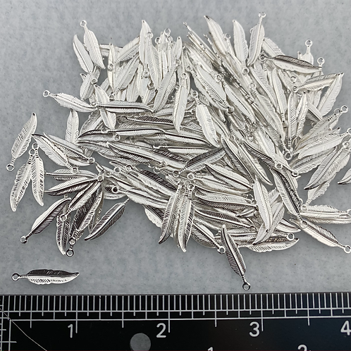 Silver Plate Feathers