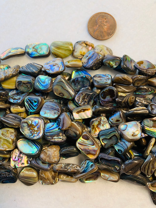 Abalone Nugget Beads