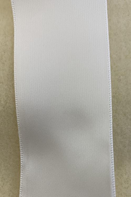 "White Satin Ribbon - 1.5"""