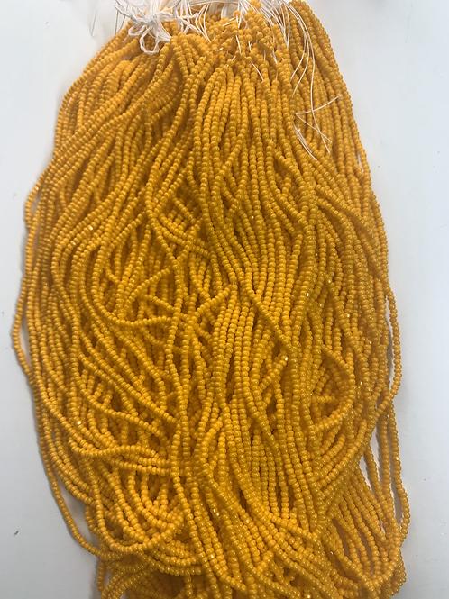 Opaque Light Orange Cut Beads   13c-29305