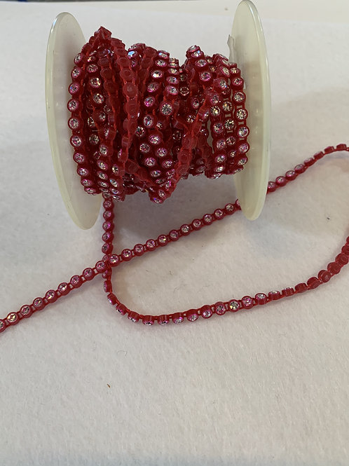 Crystal Banding SS13 - Crystal on Red