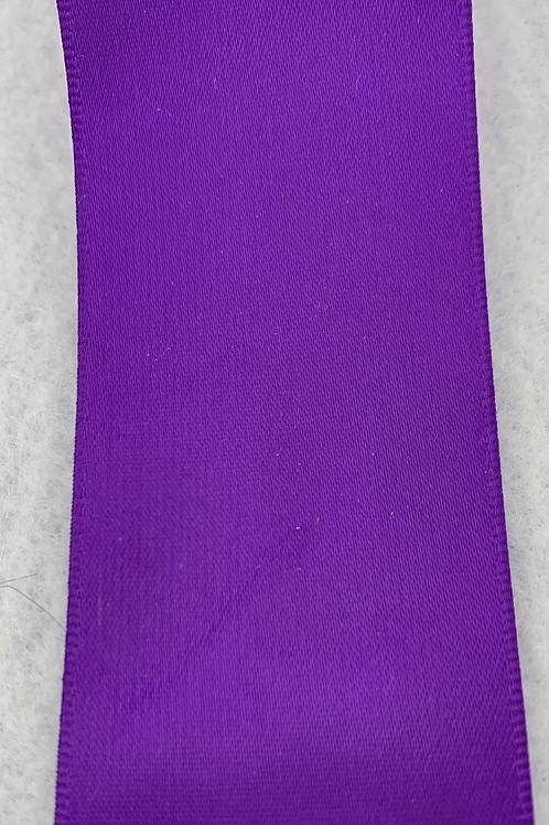 "Purple Satin Ribbon - 1.5"""