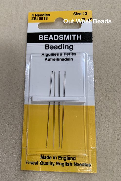 Beading Needles - long size 13