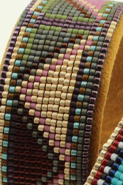 Color Play Cuff (Earthtones) - Instructions