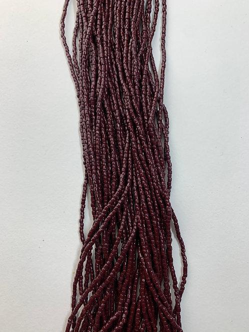 Dark Brown Tri-Cut Beads - 964