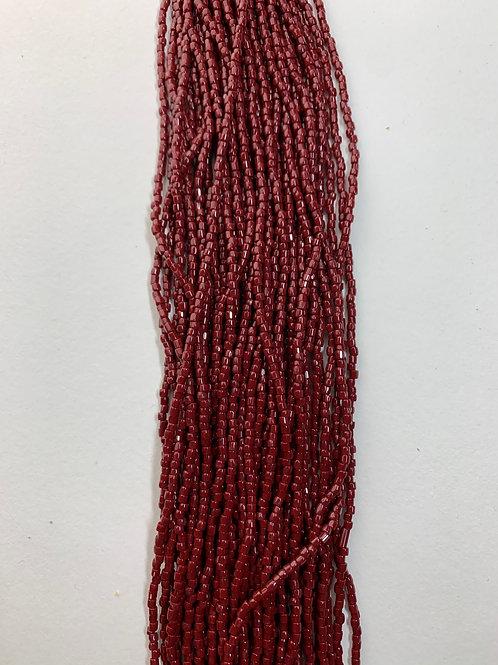 Rust Tri-Cut Beads - 398