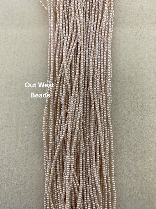 Size 13 Seed Beads Eggshell - 150