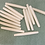"Thumbnail: Thin Bone Hairpipe Beads - 1.5"""