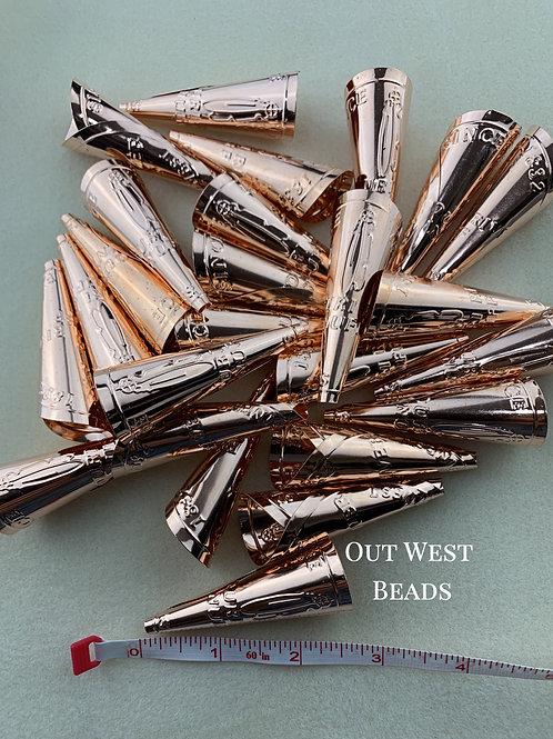 Adult Jingle Cones - Copper Finish