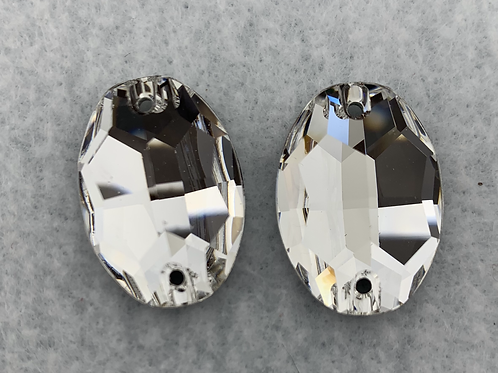 Crystal Ovals 24 x 17mm