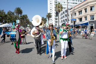 Live Music, Dance, Large-Scale Art Installations and Activities, Take Over Santa Monica Streets for