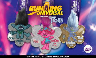 "Universal Studios Hollywood Challenges Guests to a Hair-Raising ""Running Universal"" Virtual Race Fea"