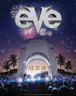 Universal Studios Hollywood Rings in 2019 with EVE