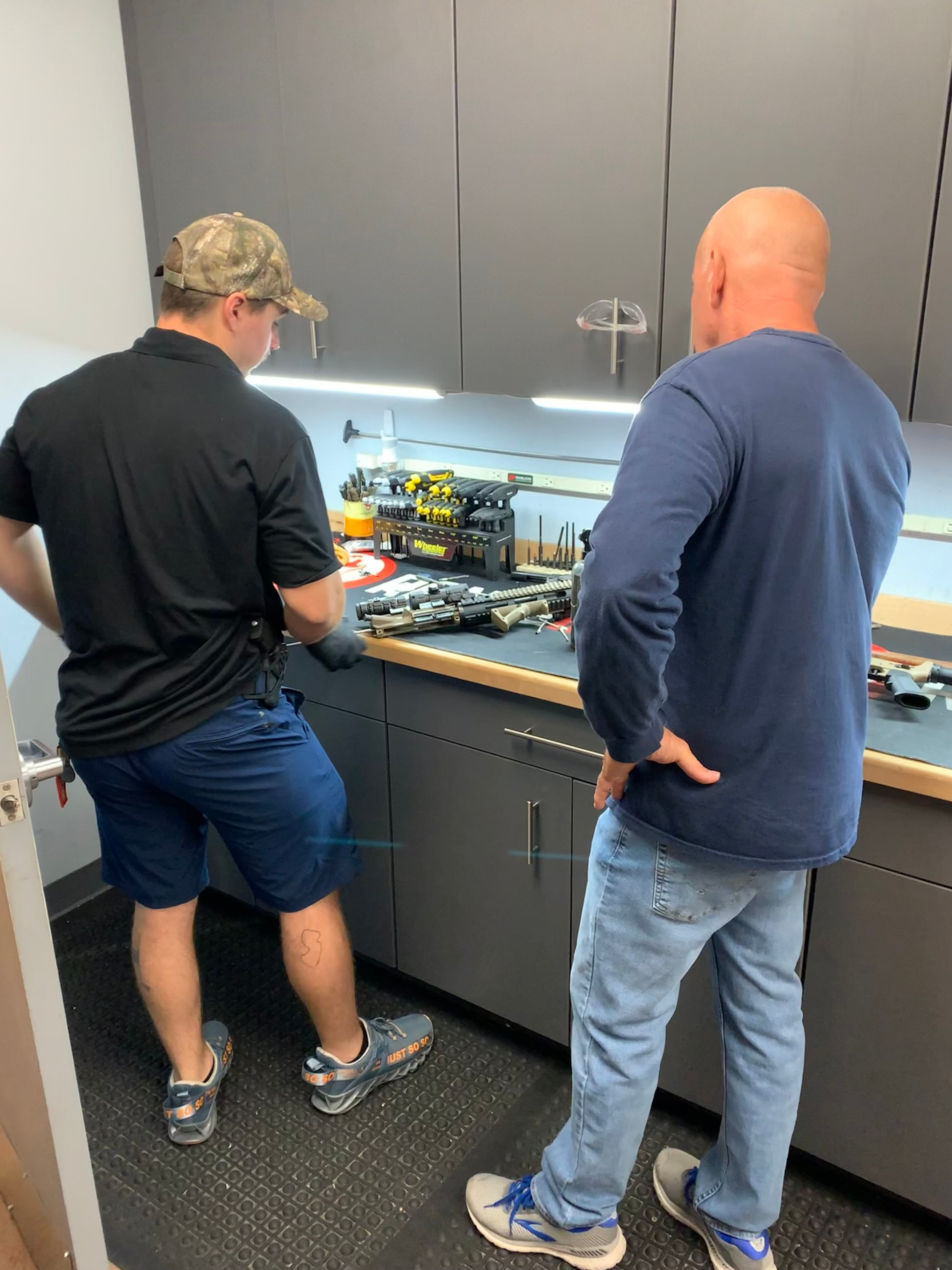Private Firearms Cleaning Instruction