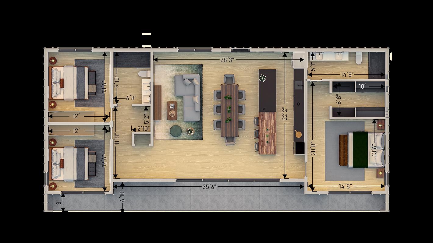 Den 1400 sf Floor plan con cotas V3.png