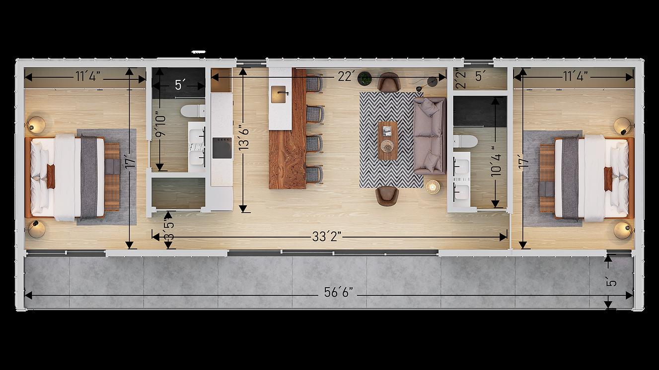 Den 1000 sf Floor Plan con Cotas V2.png